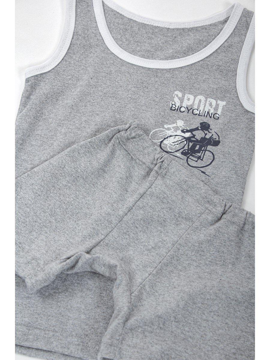 Комплект для мальчика, цвет: серый меланж