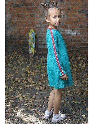 Платье из футера 2-х нитка петля