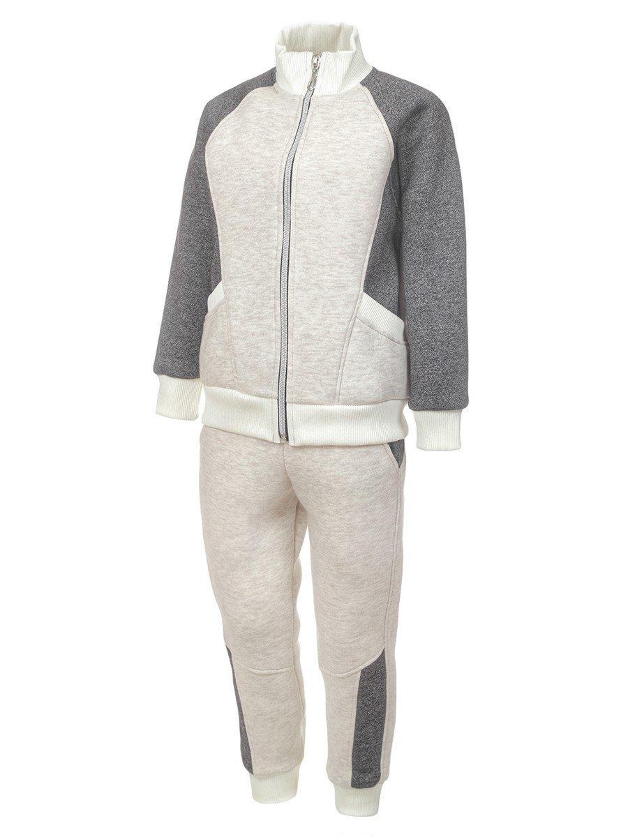 Костюм спортивный:толстовка и брюки зауженные на манжете