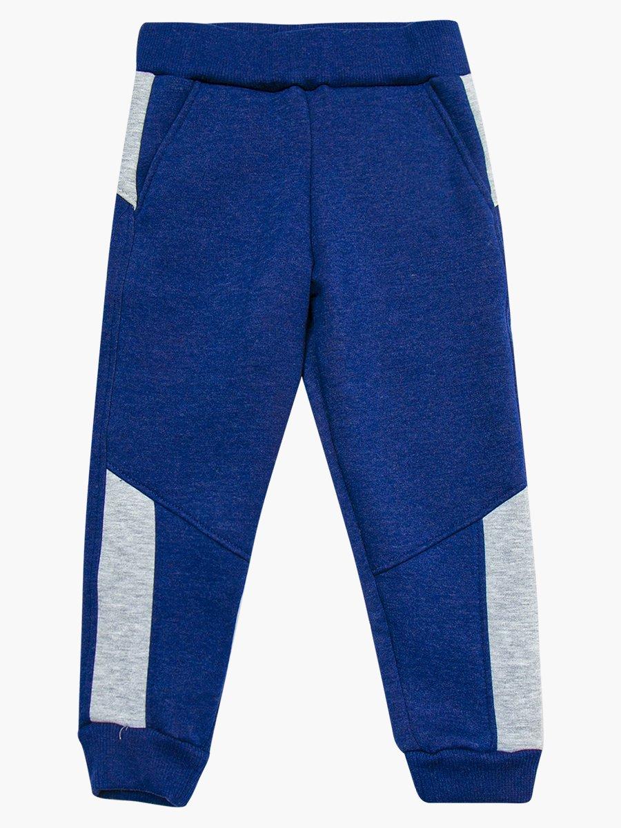 Костюм спортивный:толстовка и брюки зауженные на манжете, цвет: деним