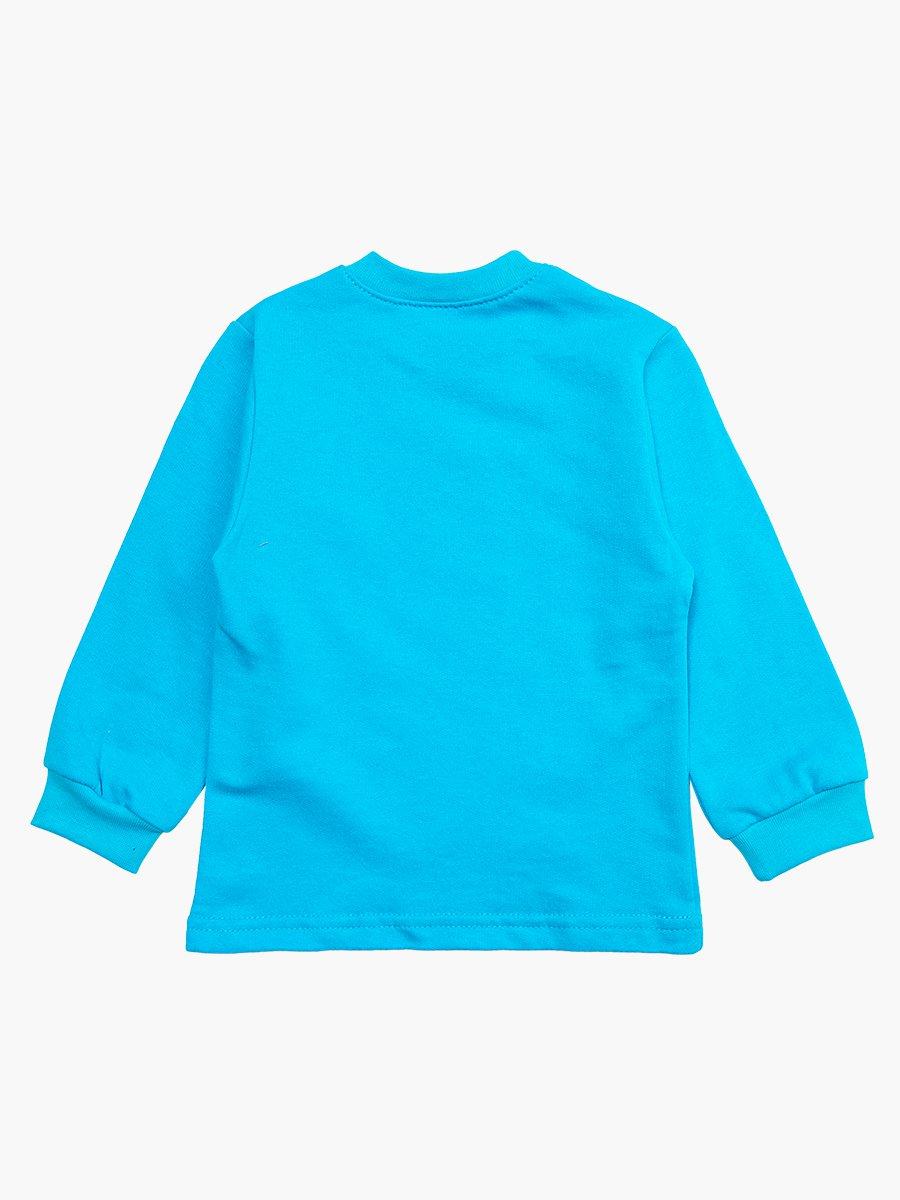 Кофточка с начесом для мальчика, цвет: бирюзовый