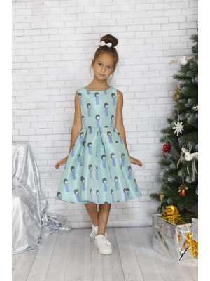 Платье винтажное нарядное