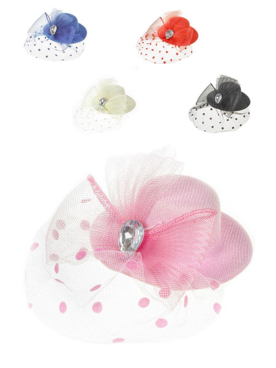 Зажим «Шляпка» 10см, цвет: мультиколор