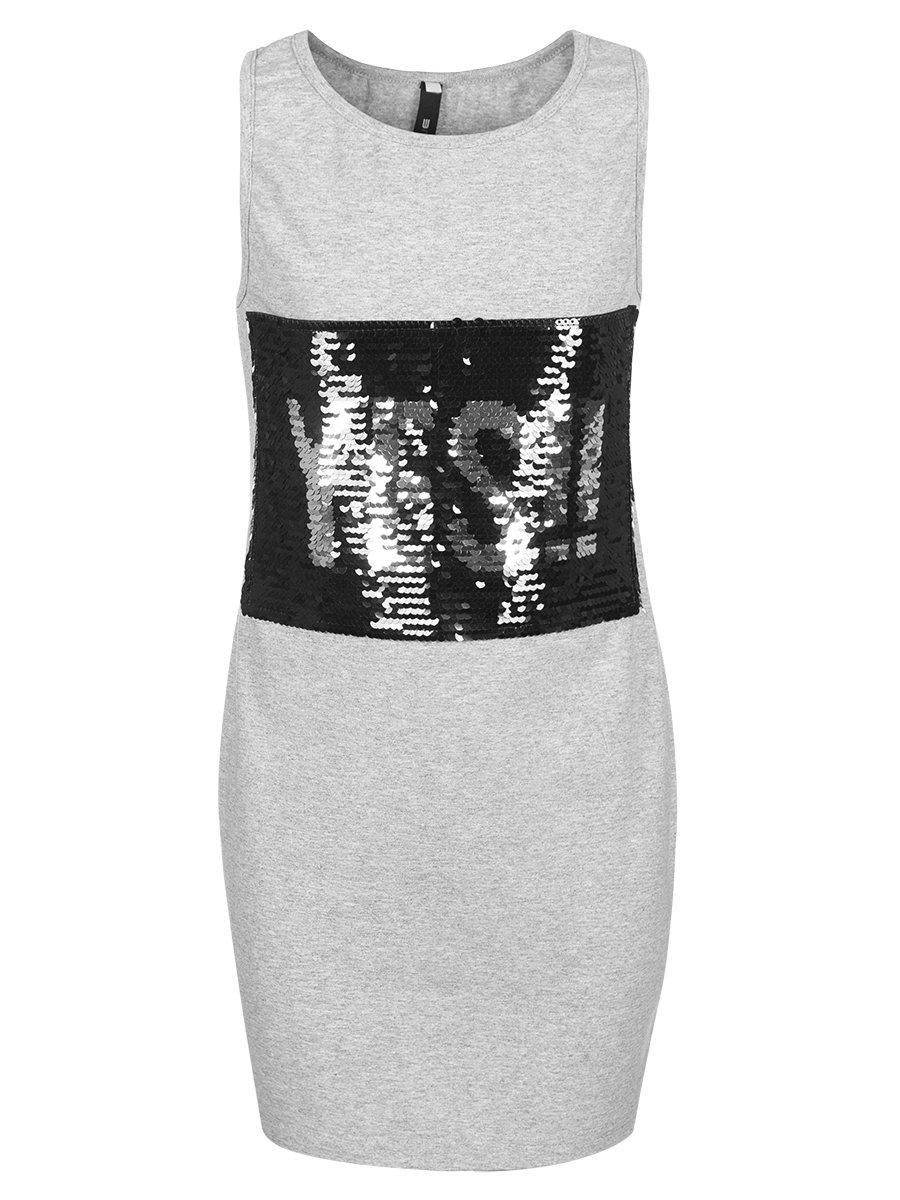 Комплект:из двух платьев А-силуэта, цвет: черный