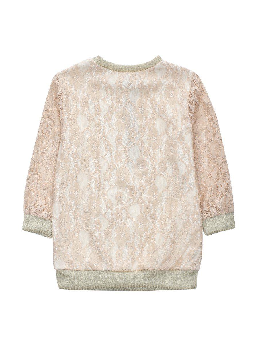 Блузка нарядная из гипюра