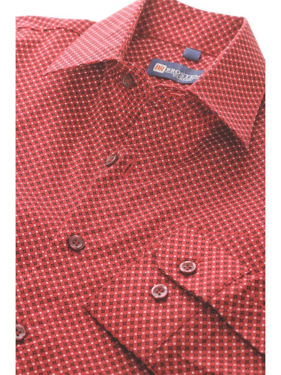 Сорочка для мальчика, цвет: красный