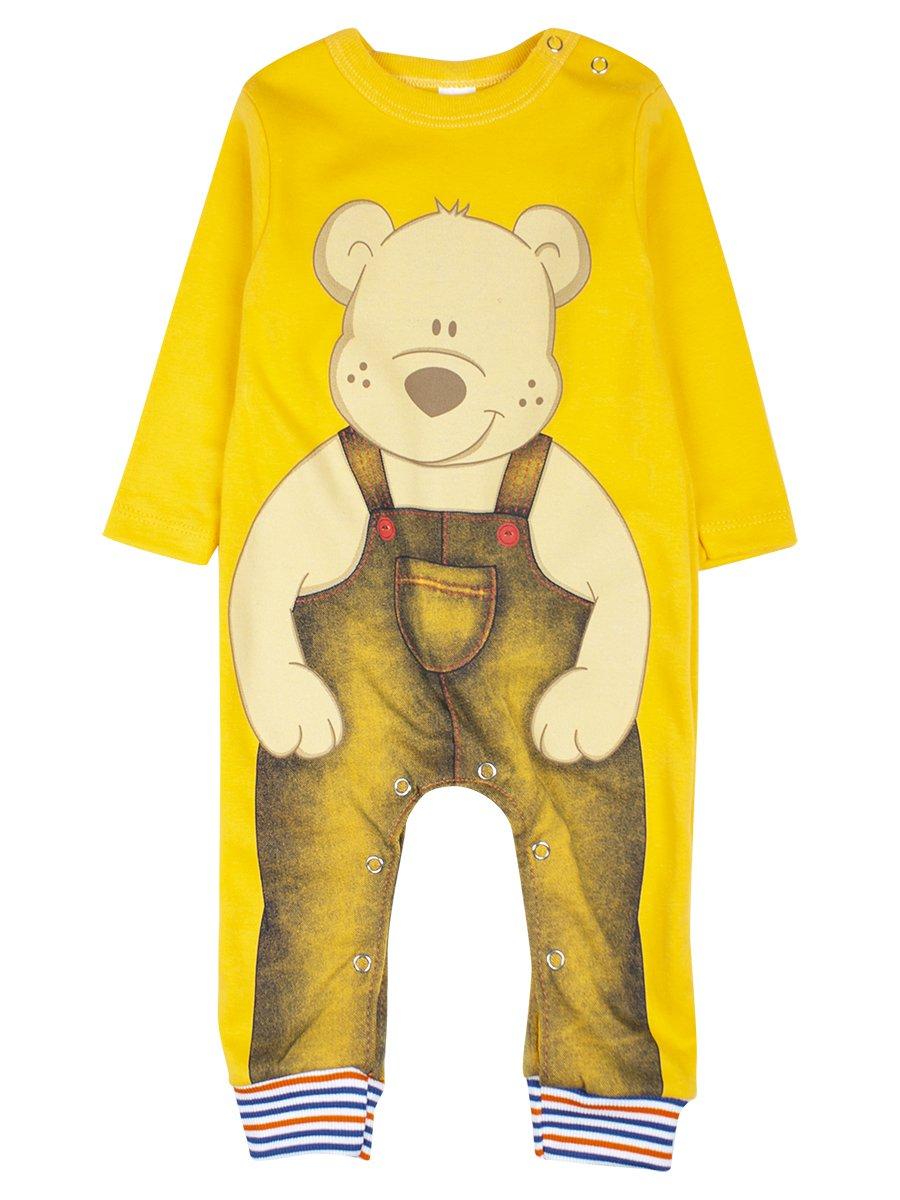 Комбинезон детский, цвет: желтый