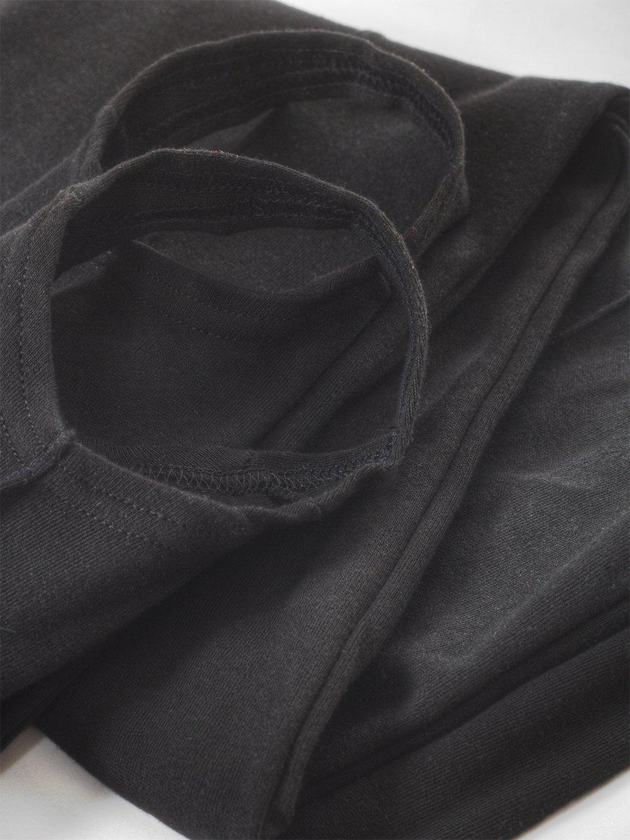 Кальсоны подростковые, цвет: черный