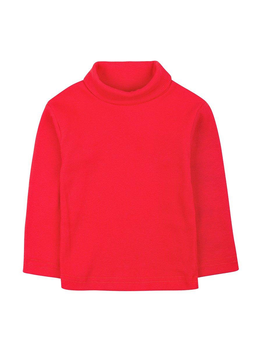 Водолазка детская, цвет: красный