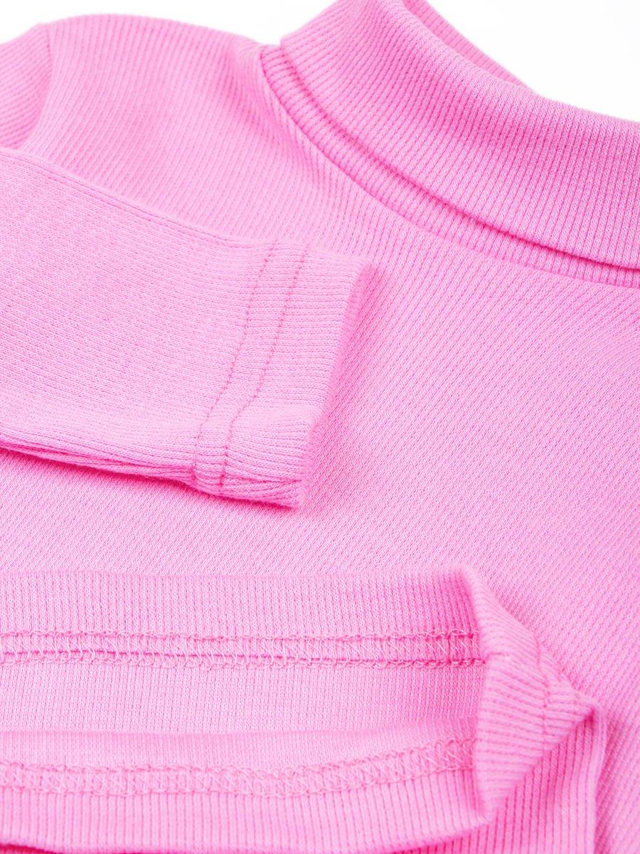 Водолазка детская, цвет: розовый
