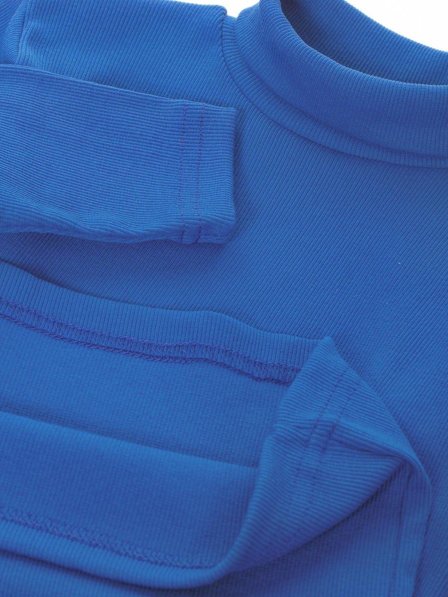 Водолазка детская, цвет: синий
