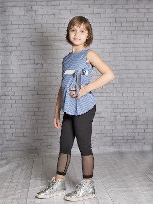 Блуза (топ) для девочки из текстиля