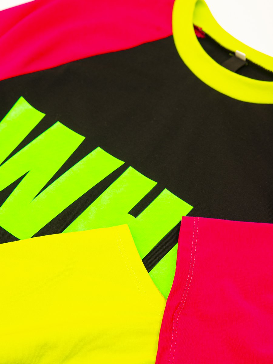 Лонгслив (футболка с длинными рукавами) из кулирки с лайкрой, цвет: черный