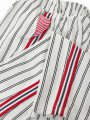 Брюки для девочки из текстиля, цвет: белый