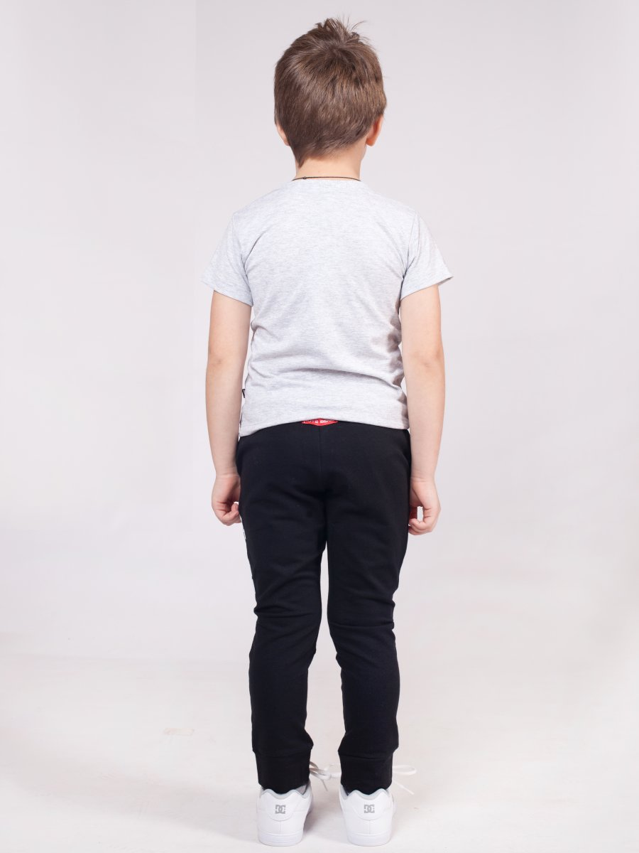 Брюки джоггеры зауженные по низу на манжете для мальчика