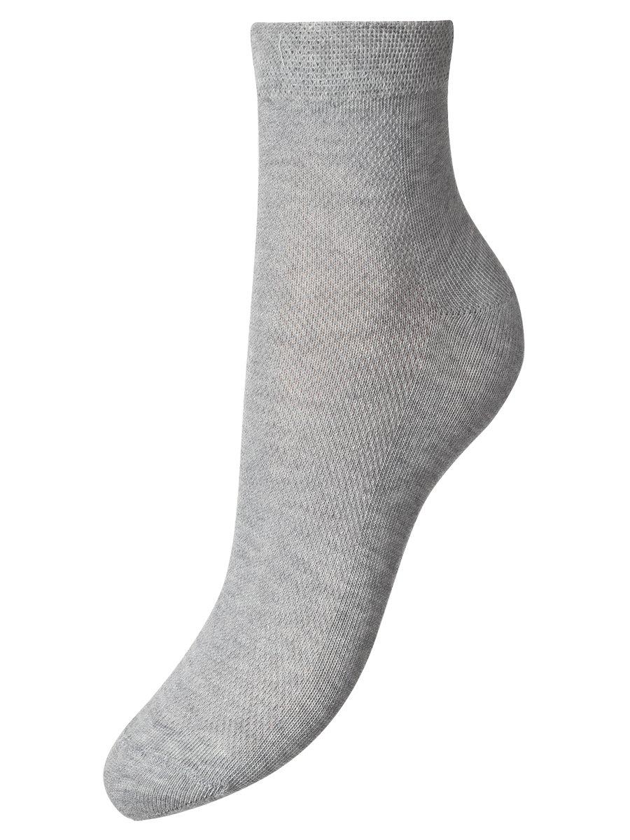 Носки для мальчика, цвет: серый меланж