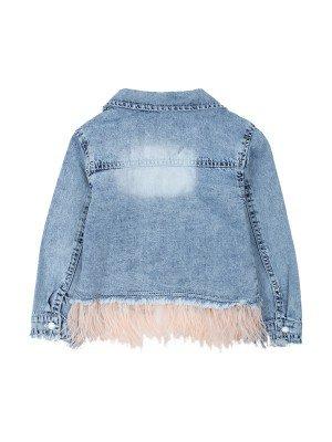 Куртка джинсовая для девочки