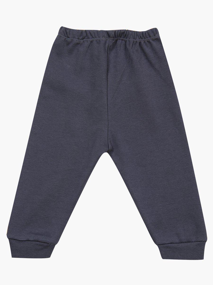 Комплект для мальчика: кофточка, штанишки и шапочка., цвет: темно-серый