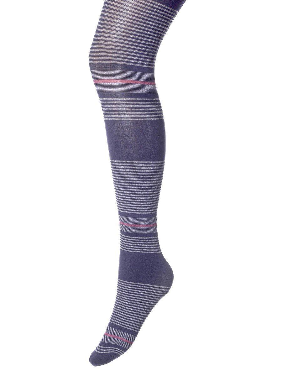 Колготки для девочки полиамидные плотные MARITgrafit, цвет: темно-синий