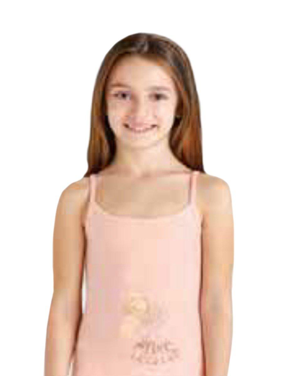 Майка для девочки, цвет: мультиколор
