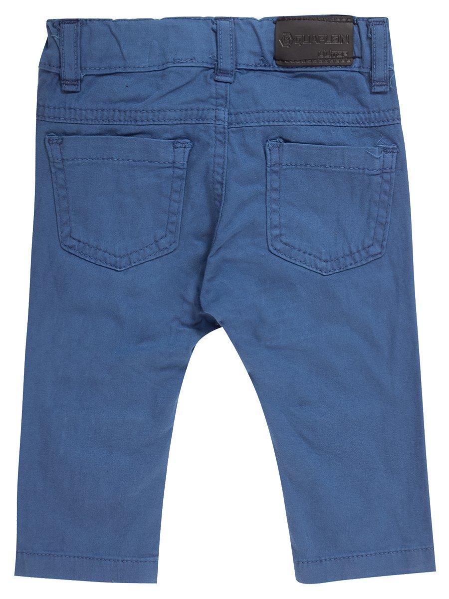 Брюки джинсовые для мальчика, цвет: синий