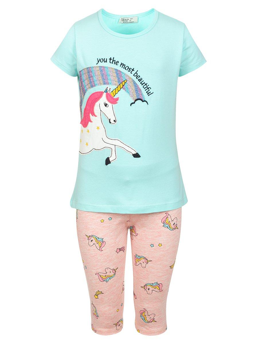 Комплект:футболка и шорты
