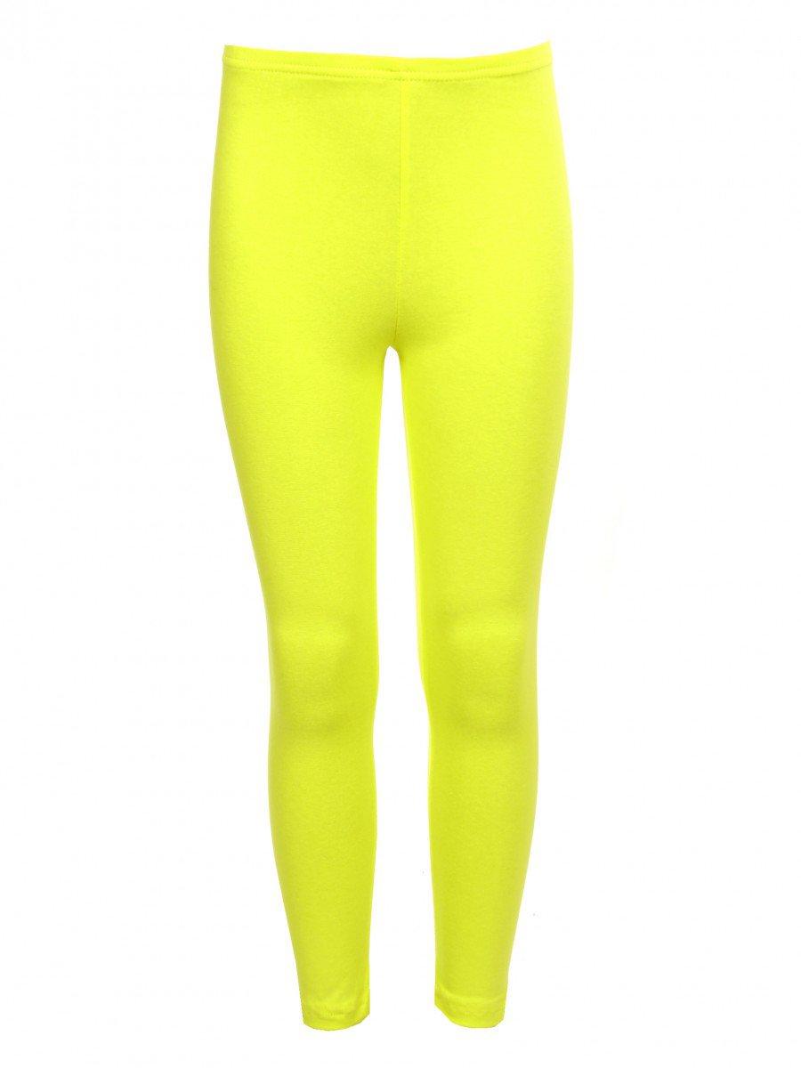 Лосины для девочки, цвет: желтый