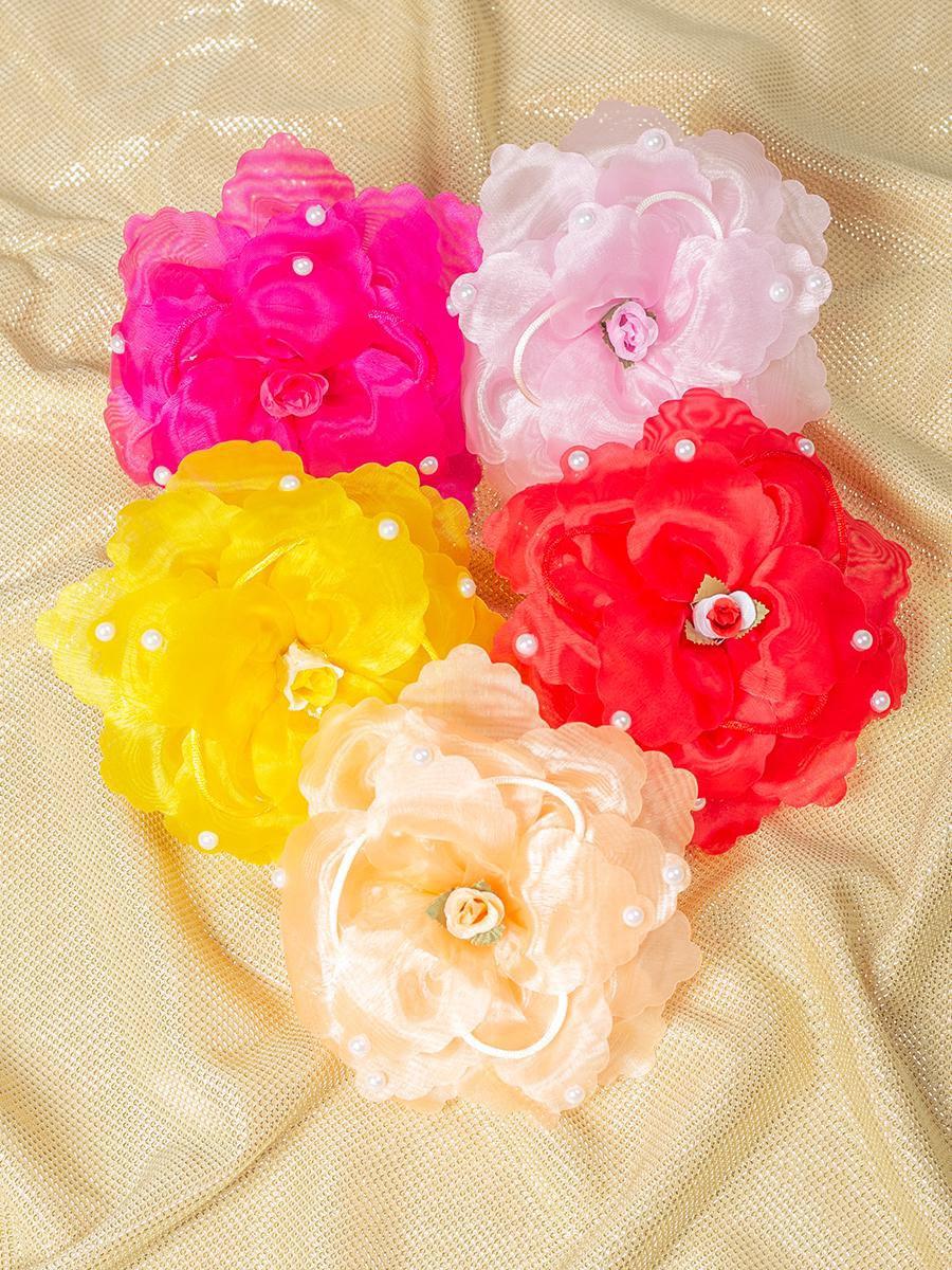 Бант-резинка 12см, цвет: мультиколор