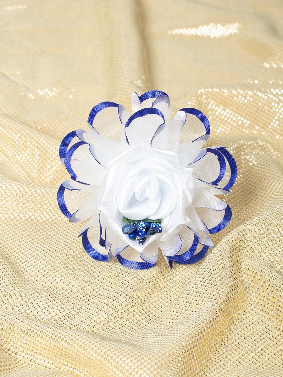 Бант-резинка, цвет: синий