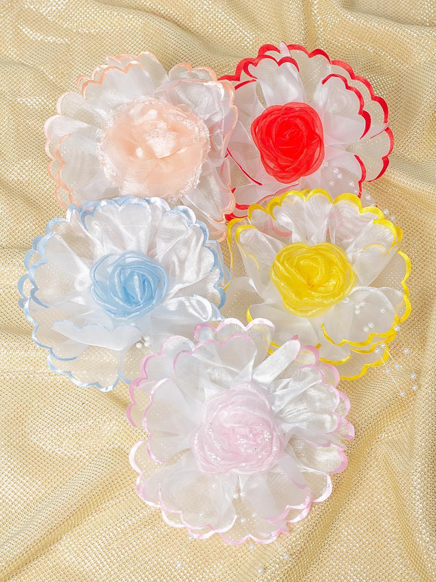 Бант-резинка 11см, цвет: мультиколор