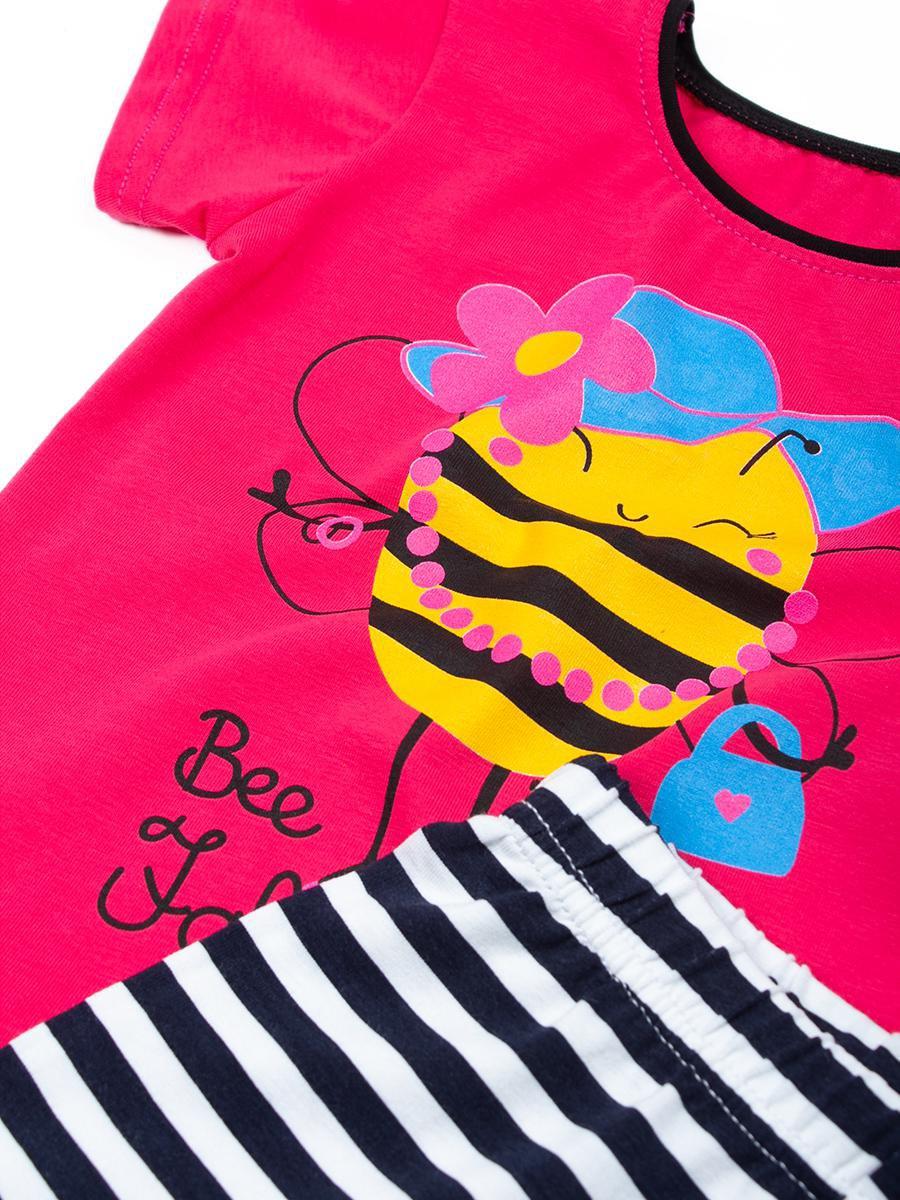 Комплект для девочки: футболка и шорты