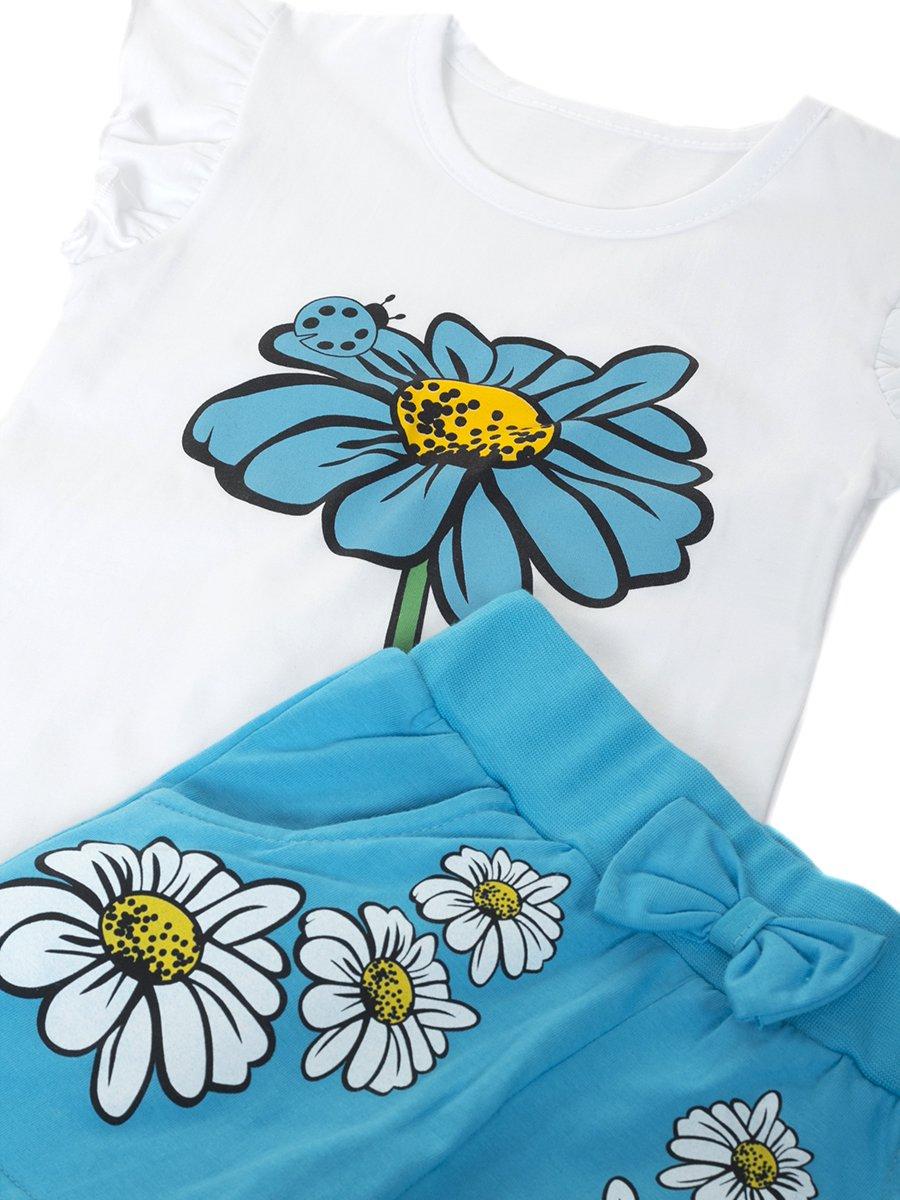 Комплект для девочки, цвет: бирюзовый
