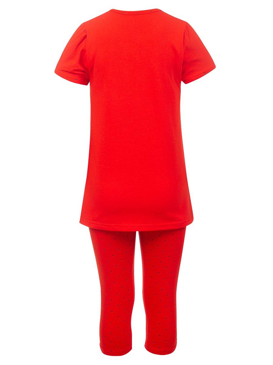 Комплект:футболка и капри