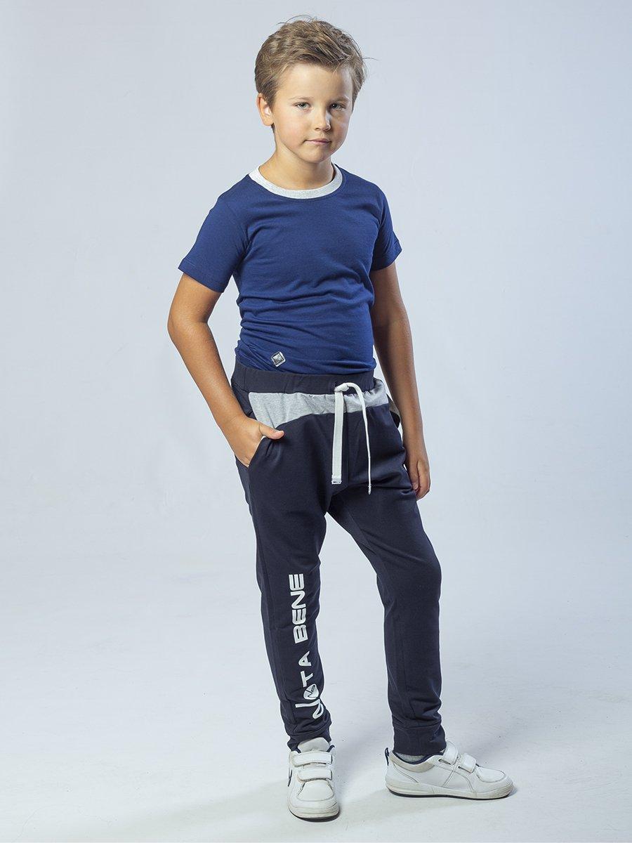 Брюки спортивные для мальчика из футера 2-х нитки