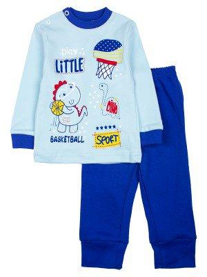 Комплект для мальчика:штанишки и кофточка