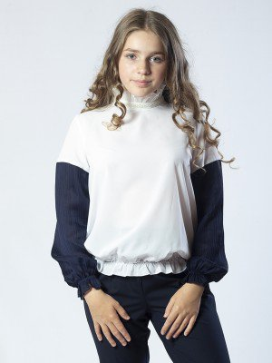 Блузка из шифона с нижней майкой из хлопка