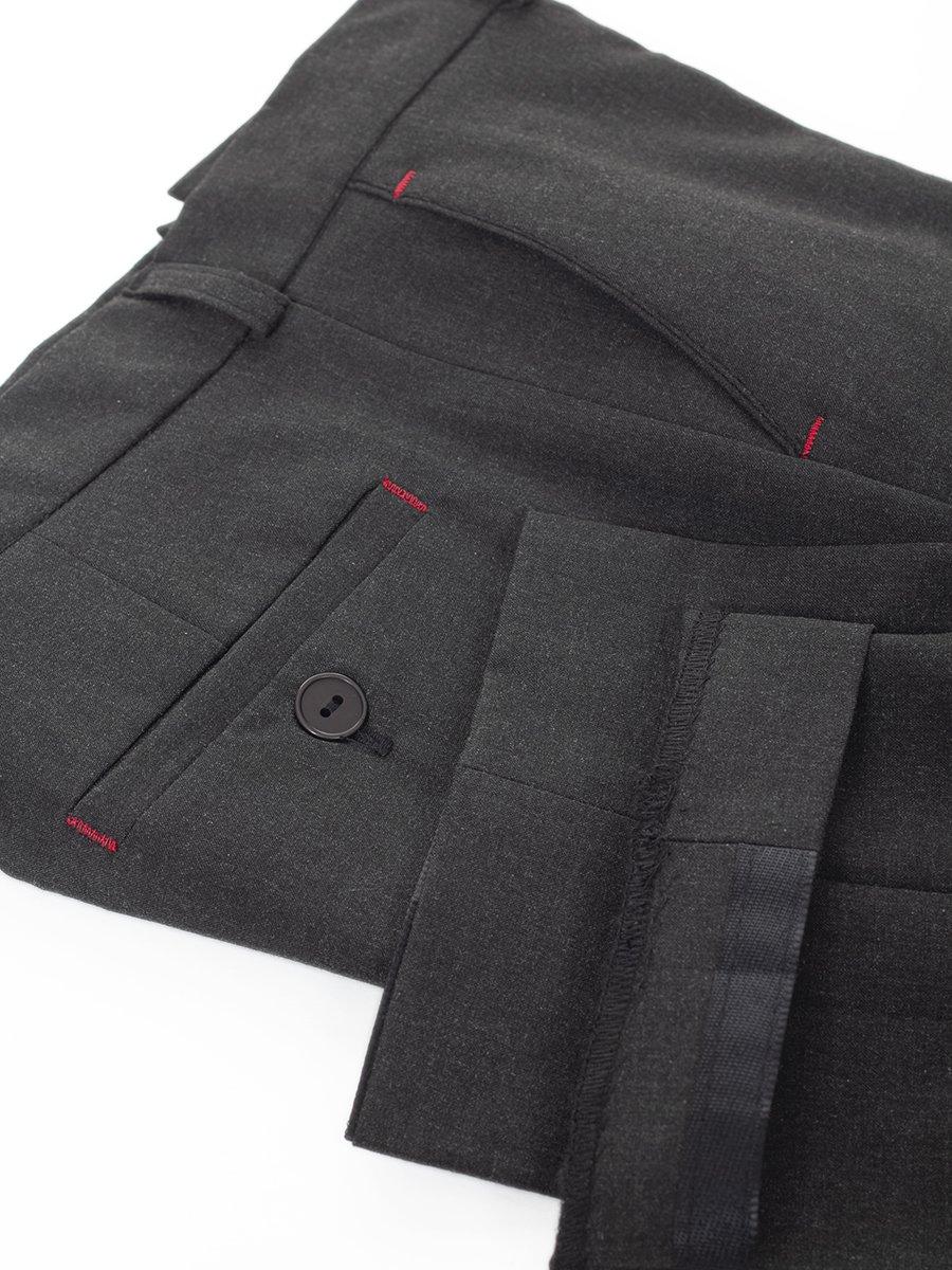Брюки для мальчика из текстиля, цвет: серый