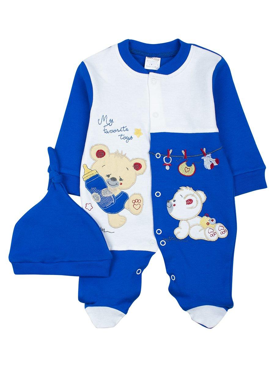 Комбинезон детский, цвет: синий