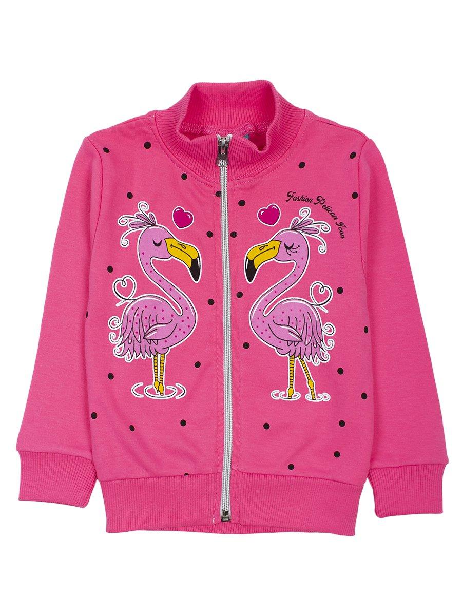 Толстовка для девочки, цвет: розовый