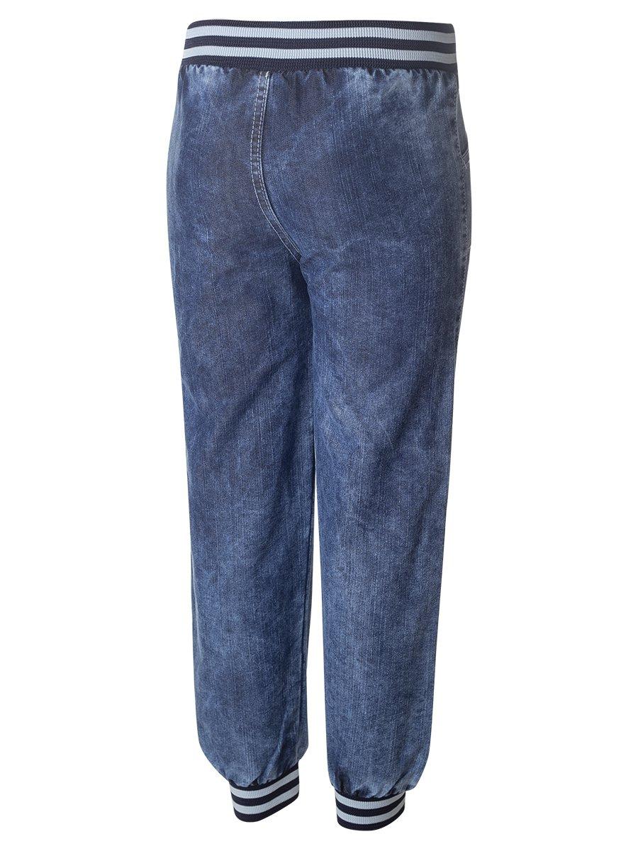 Брюки джинсовые для мальчика, цвет: деним
