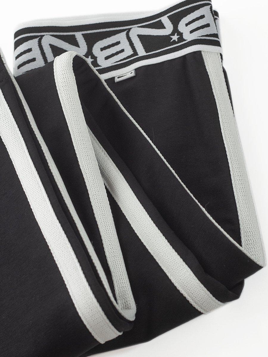Брюки спортивные прямые для девочки, цвет: черный
