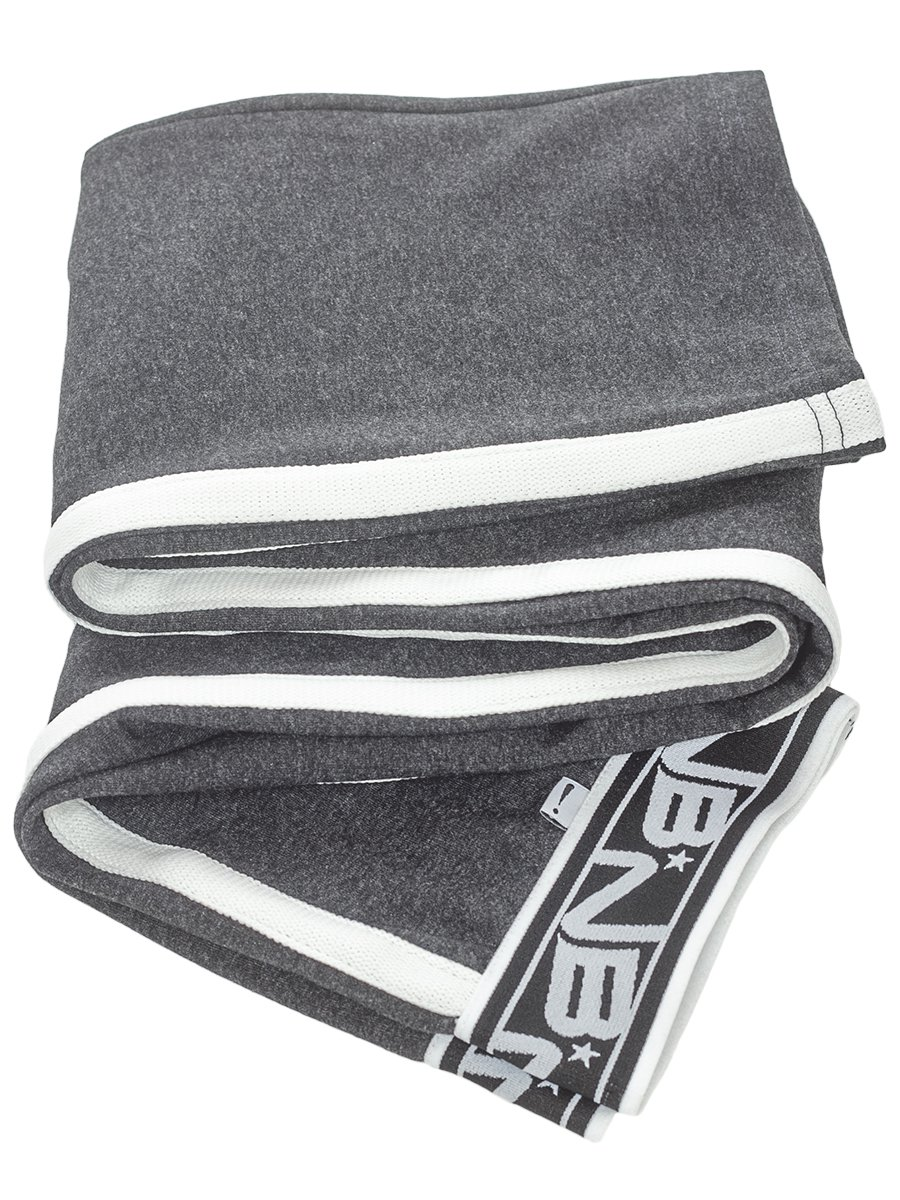 Брюки спортивные прямые для девочки, цвет: темно-серый