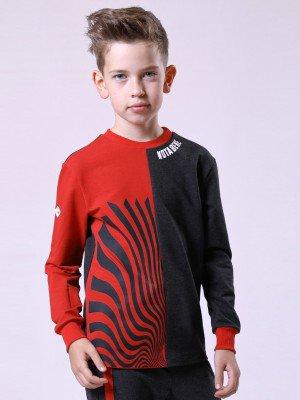 Свитшот для мальчика из футера 2-х нитки