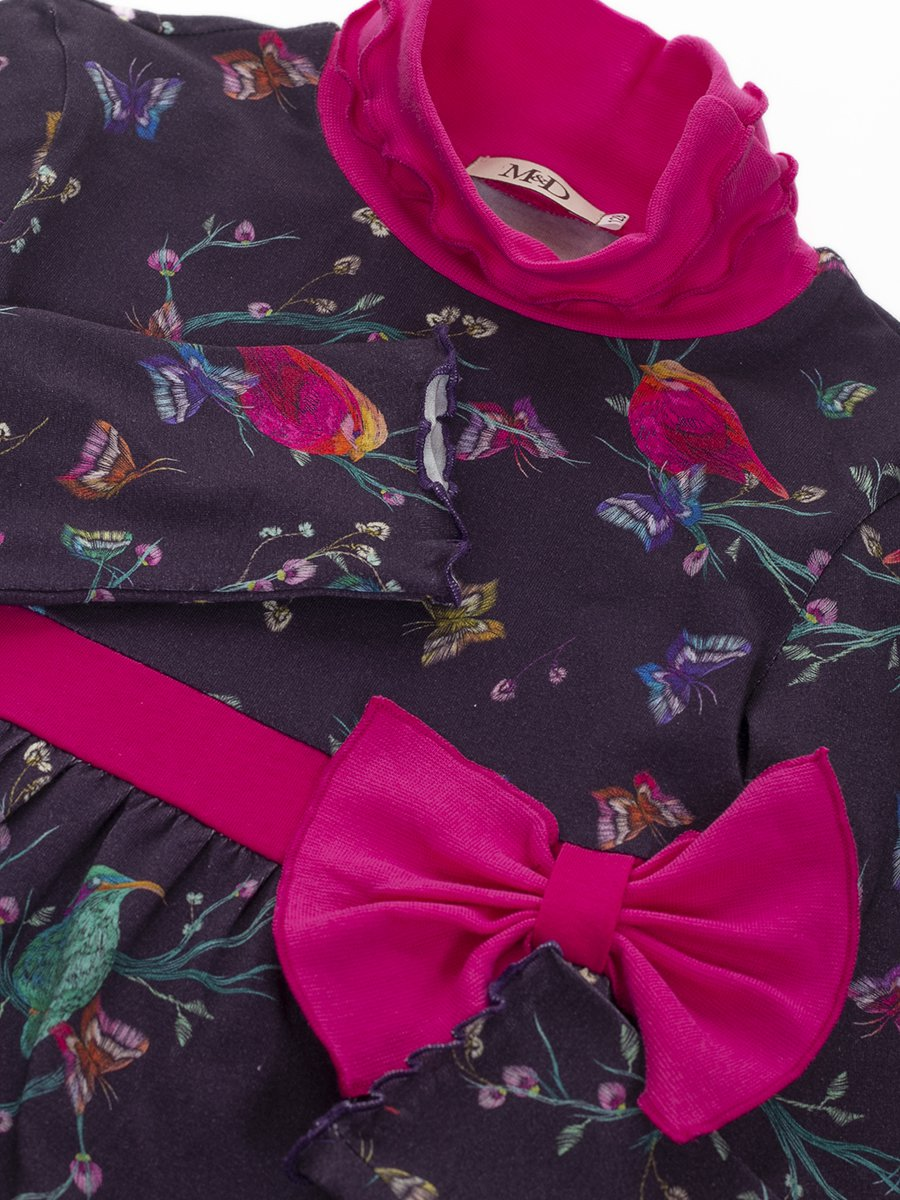 Водолазка для девочки, цвет: фиолетовый