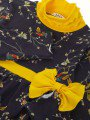 Водолазка для девочки, цвет: лиловый