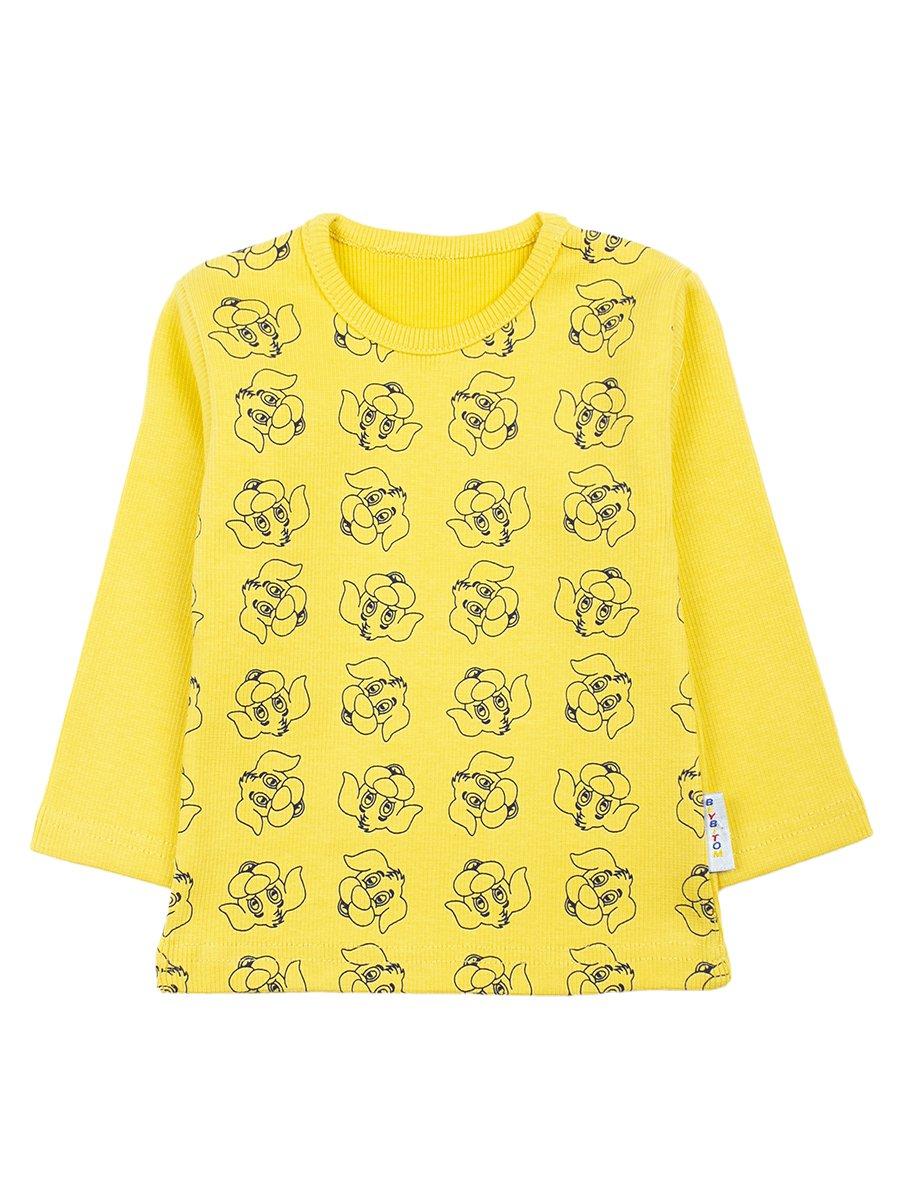 Кофточка для мальчика, цвет: желтый