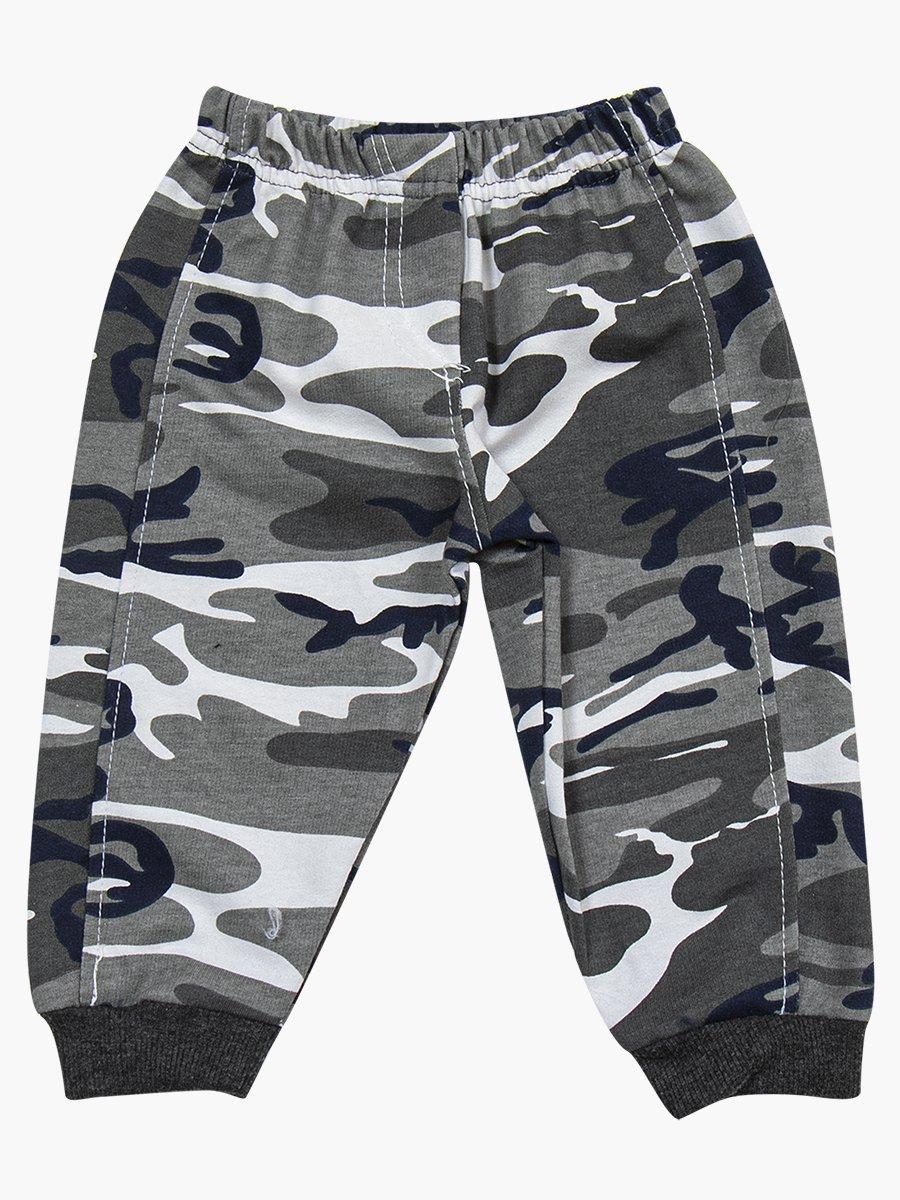 Комплект для мальчика: толстовка и штанишки, цвет: темно-серый