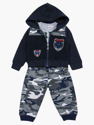 Комплект для мальчика:толстовка,штанишки и кофточка