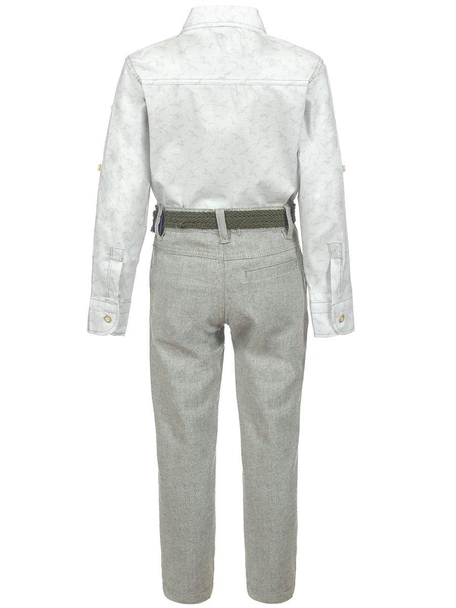 Комплект для мальчика, цвет: светло-серый