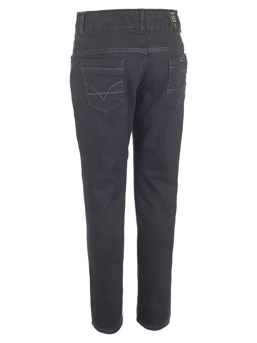 Брюки джинсовые для мальчика, цвет: темно-серый